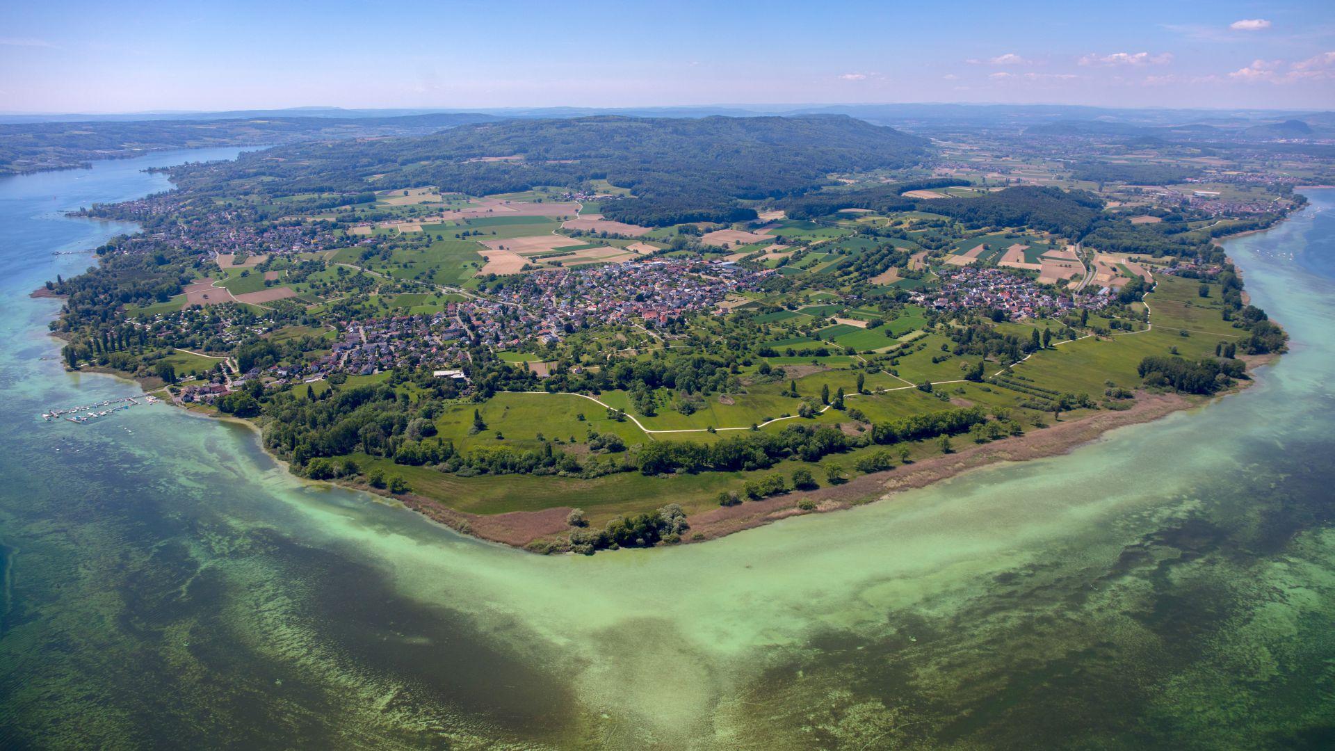 Halbinsel Höri im Bodensee