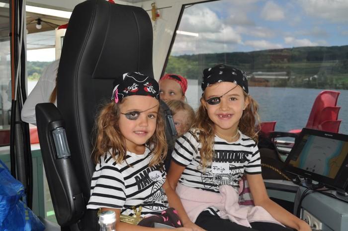Piratenfahrt auf der MS Seestern