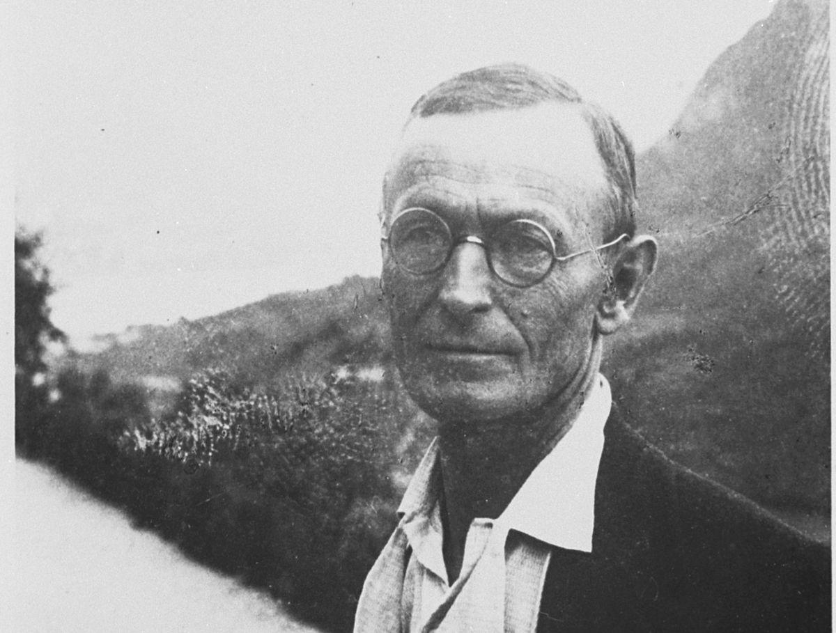 Hermann Hesse. Montagnola, Juli 1935
